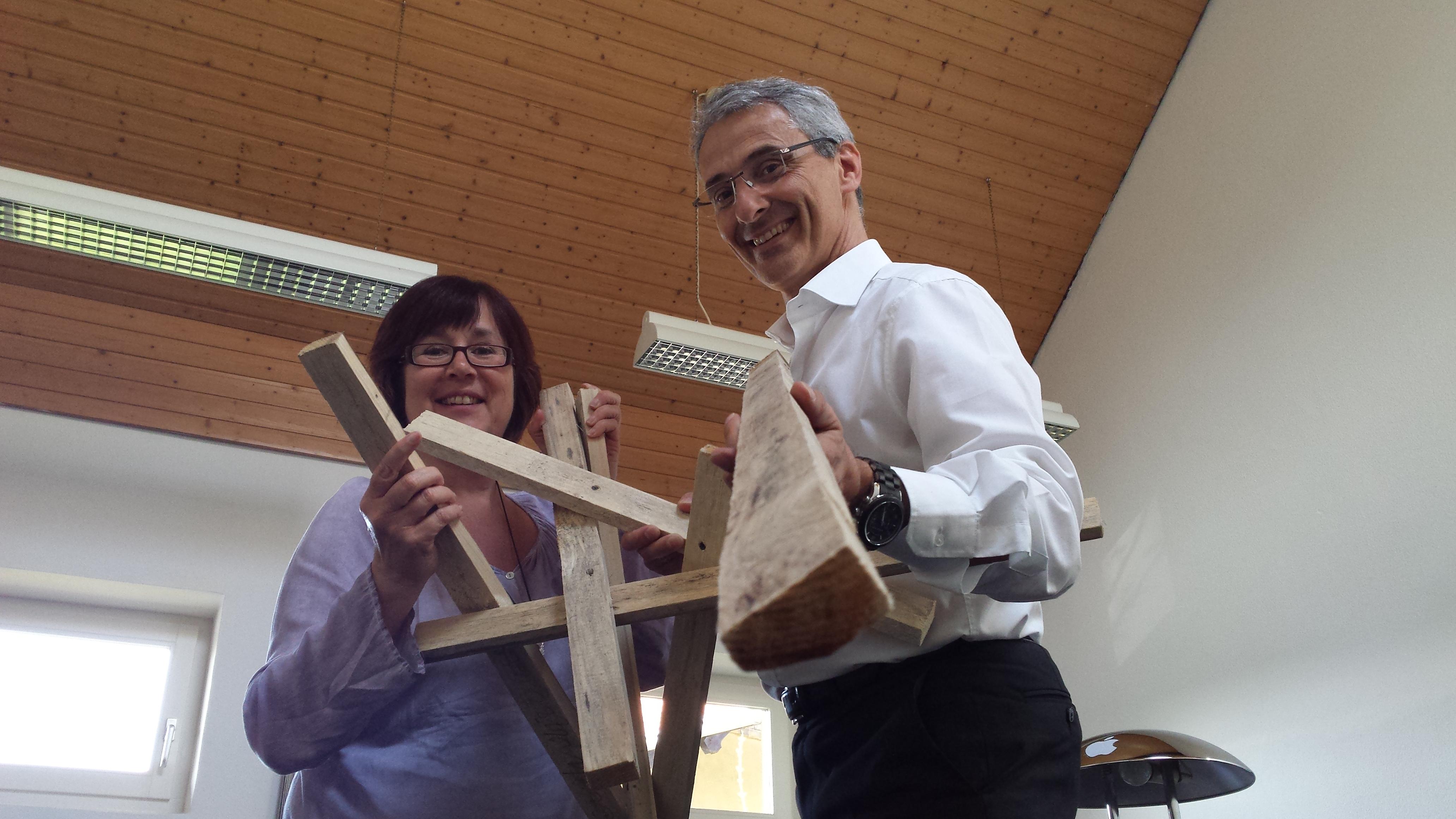 8. Mai 2015 16:00 Uhr: Woodencloud startet am St. Johanner Markt Saarbrücken