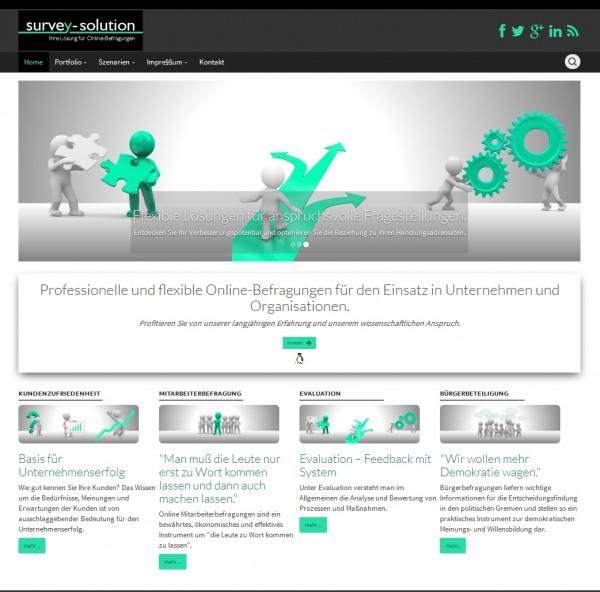 survey-solution.de   Professionelle und flexible Online-Befragungen für den Einsatz in Unternehmen und Organisationen.