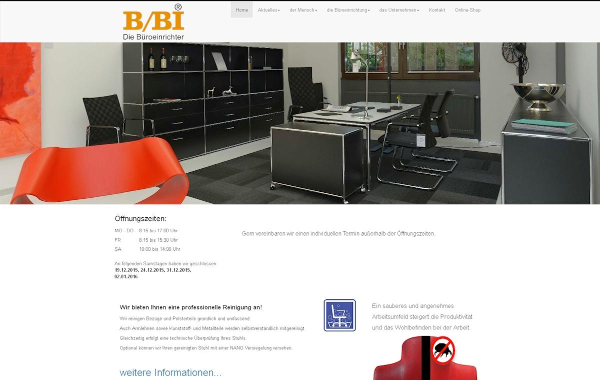 B/BI Die Büroeinrichter